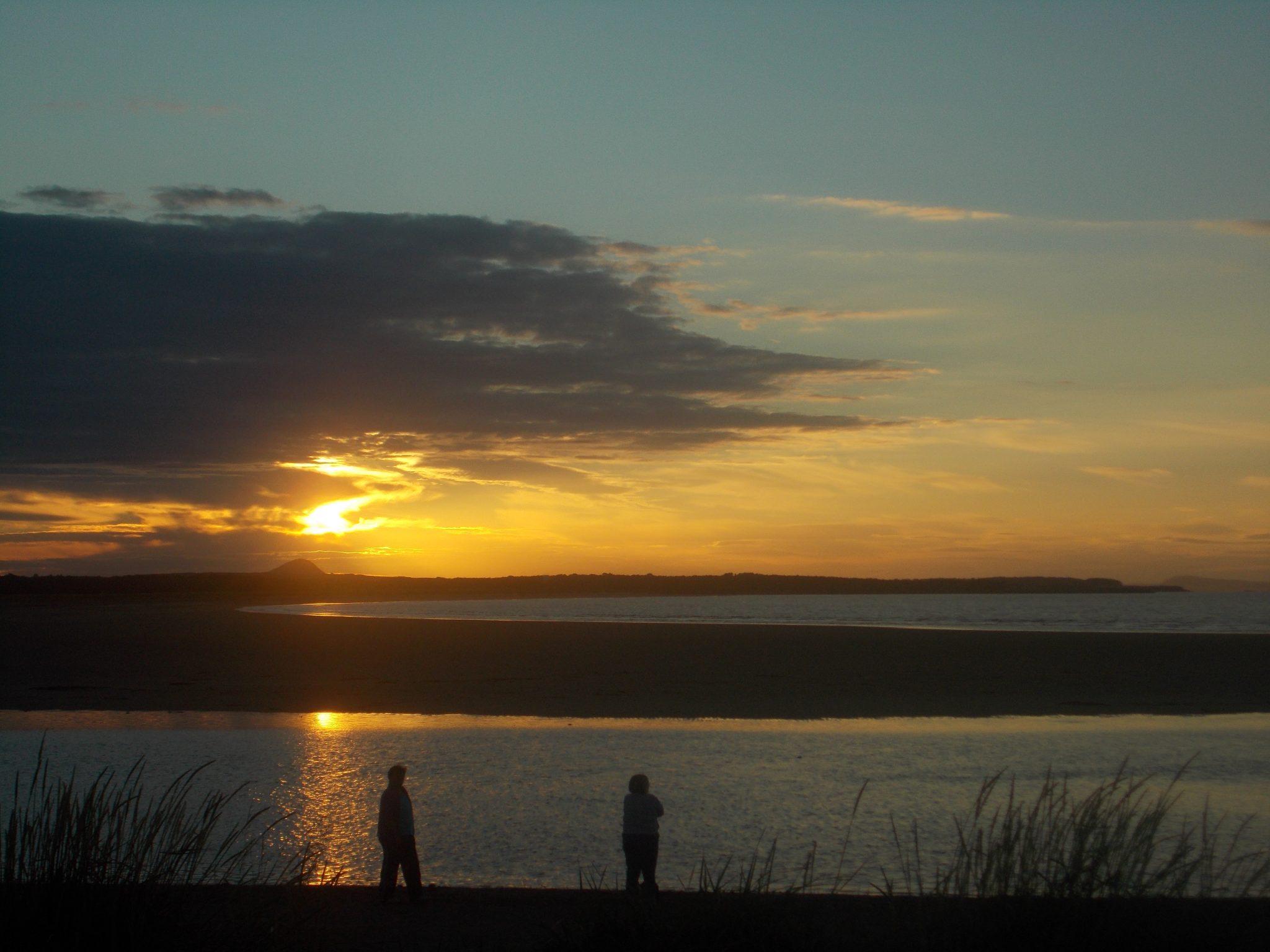Sunset at Dunbar, Scotland