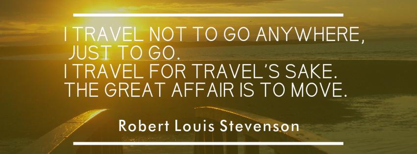 Sunset at Dunbar, Scotland Robert Louis Stevenson Travel Quote
