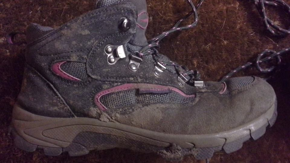 Dirty Walking Boot