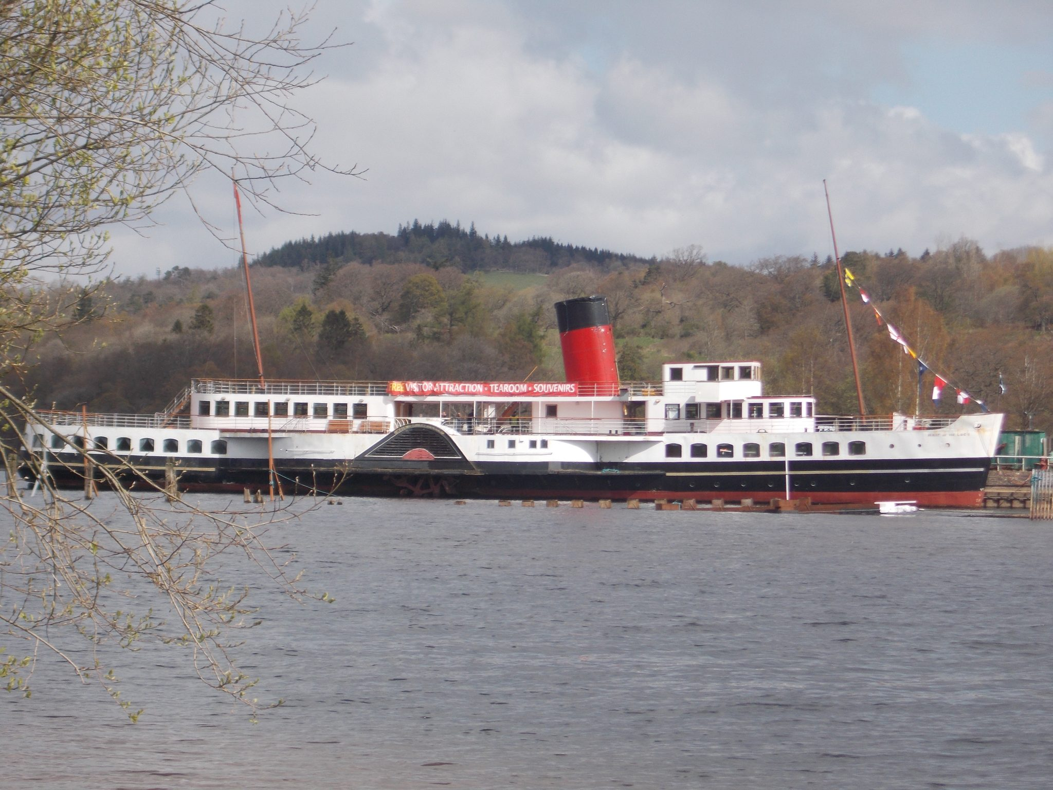 The Maid Of The Loch Loch Lomond Scotland