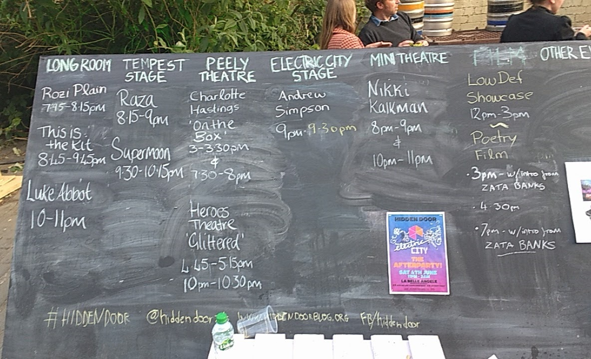 Hidden Door Festival Timetable