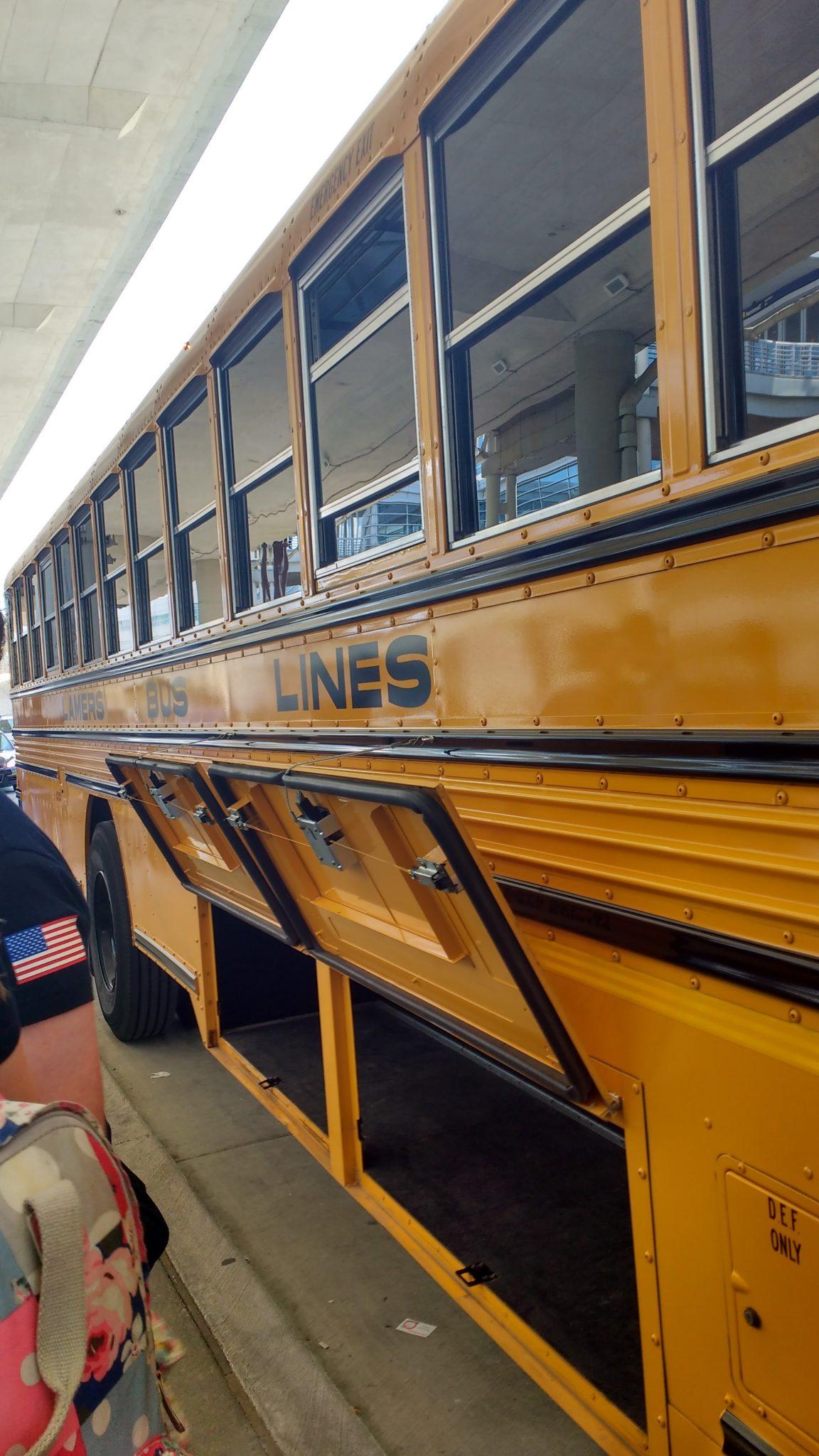 Yellow School Bus Chicago America
