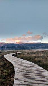 The Fisherman's Walk looking to Goatfell, Isle of Arran