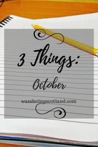 Gratitude List October