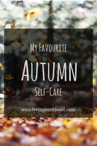 Favourite Autumn Self-care
