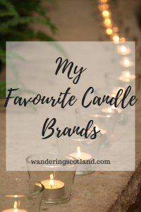 favourite candle brands