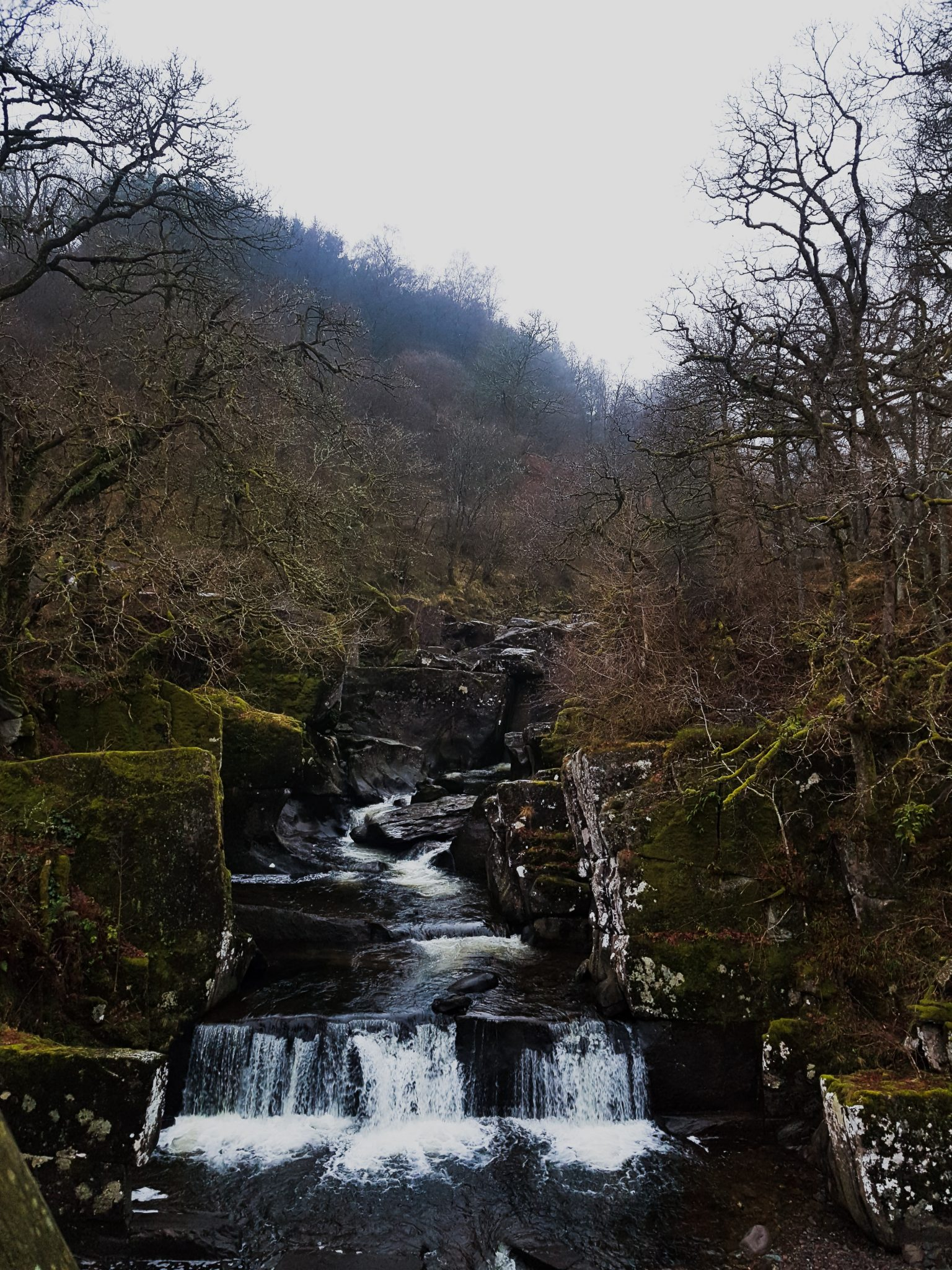 Bracklinn Falls on a Winter's Day