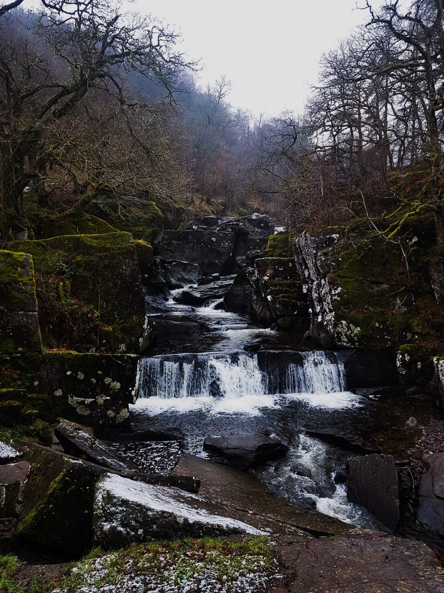 Bracklinn Falls near Callander, Scotland