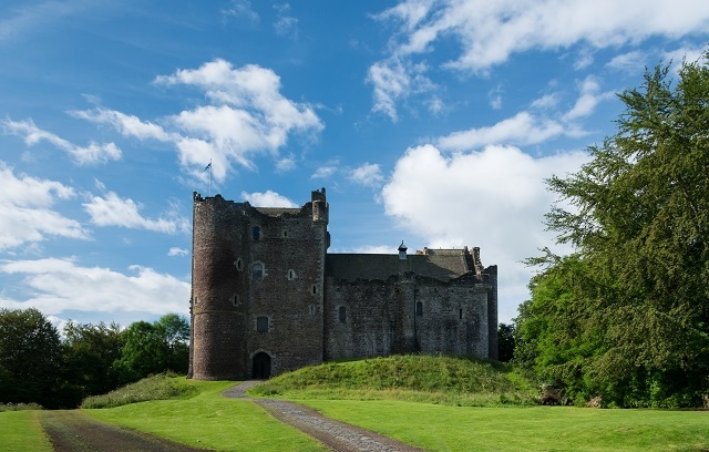 Doune Castle. Photo courtesy of VisitScotland.com