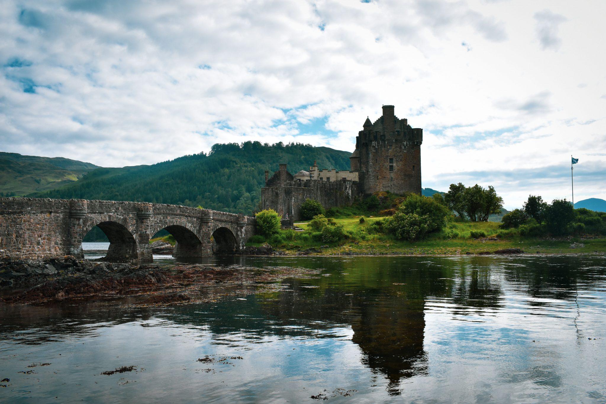 Eilean Donan Castle, Dornie, Scotland.
