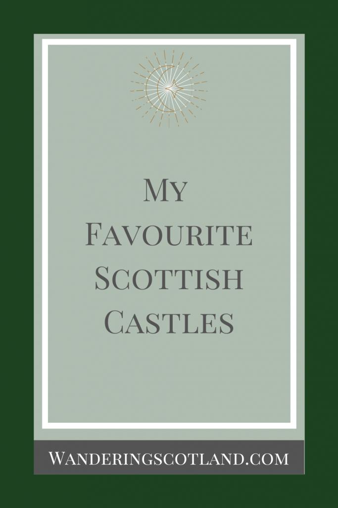 Best Scottish Castles Pinterest Graphic