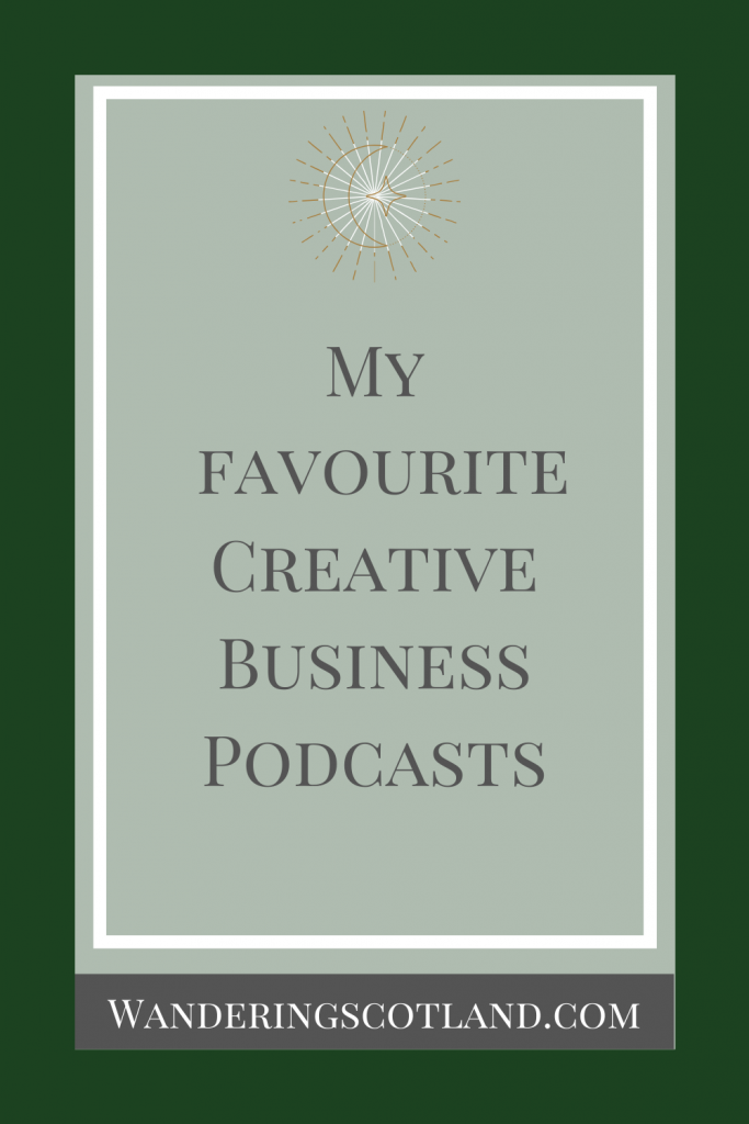 Creative Business Podcast Pinterest Graphic