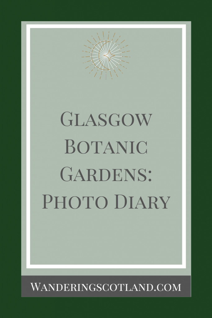Glasgow Botanic Gardens: Photo Diary